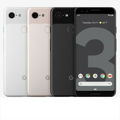 Google Pixel 3 64gb 128gb White Black Not Pink Unlocked Great Phone Discounted!