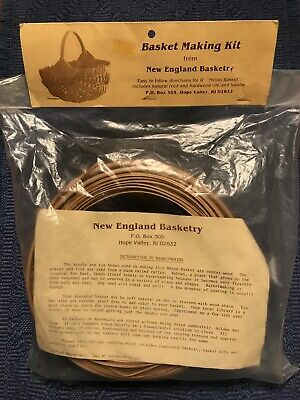 """Melon Basket Making Kit From New England Basketry,  8"""""""