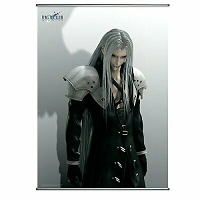 Square Enix Final Fantasy VII 7 ADVENT CHILDREN Wall Scroll Poster Sephiroth NEW