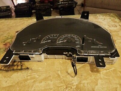 Speedometer Instrument Cluster 03 Ford Expedtion Dash Panel Gauges