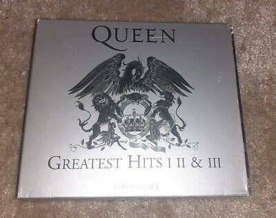 Queen Greatest hits 1 2 & 3 Cd Boxset 2011 remastered