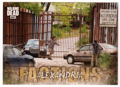 2018 Topps THE WALKING DEAD ROAD TO ALEXANDRIA #F-6 'FACTIONS' ALEXANDRIA