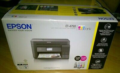 Epson EcoTank All-in-One Wi-Fi Printer ET-4750 Save up to 90% on ink costs