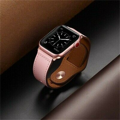Genuine Leather For Apple Watch Band Strap for iWatch Series 4 3 2 1 38 42 40 44