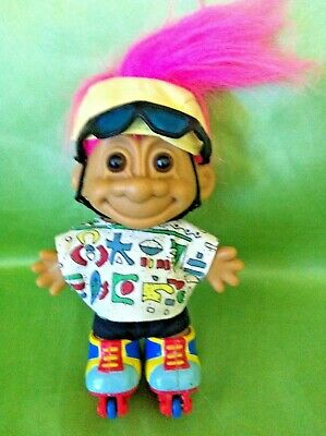 Russ Troll Doll ROLLERBLADER SPORTS original collect 5 inch (13cm)