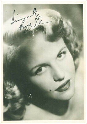 Peggy Lee - Photograph Signed
