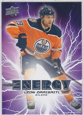19/20 Ud...leon Draisaitl...pure Energy...# Pe-39...Oilers...free Combined Ship