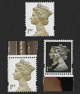 2000 Machin Millennium Set of 1st Class NVI sg2124 2124d 2133 MNH Unmounted Mint