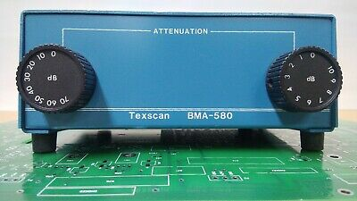 TEXSCAN BMA-580 BENCH ATTENUATOR w/2 cables