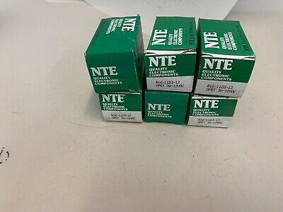 NTE R16 11D3-12 DPDT  Lot of 6 New