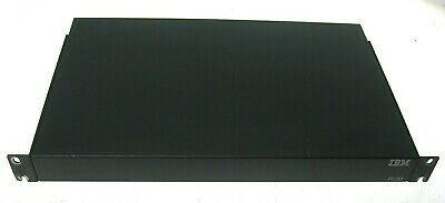 IBM 32P1651 RCM KVM Over IP Remote Console Manager Switch 1735-R16, 32P1653