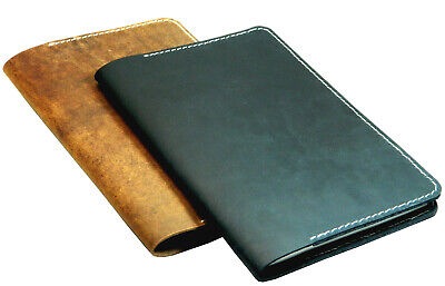 "Leather Journal Field Notes Moleskine Cover Handmade for 5.5 x 8.25"" A5 Notebook"