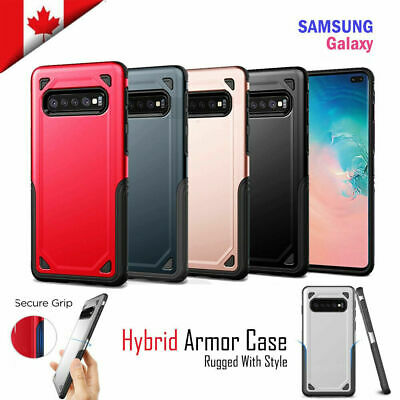 For Samsung Galaxy S10 / Plus S10e Case Heavy Duty Armour Dual Layer Tough Cover