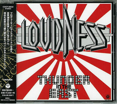 Loudness-Thunder In The East-Japan Cd C94