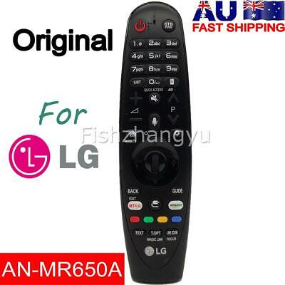 Genuine LG AN-MR650A Magic Remote Control For for LG Smart TV AKB75075301 O