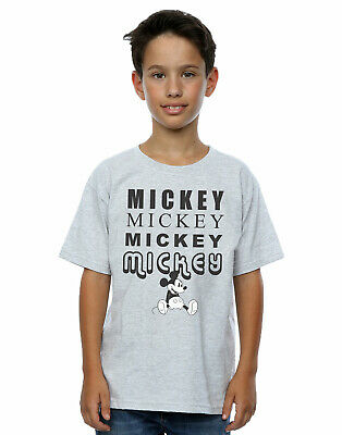 Disney Boys Mickey Mouse Sitting T-Shirt