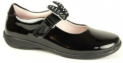 Lelli Kelly Nicole With Interchangeable Straps Patent Velcro School Shoe