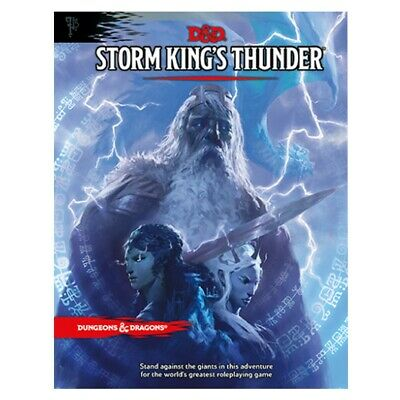 Dragons & Dungeons 5th Edition D&D Next Storm King's Thunder Adventure MINT