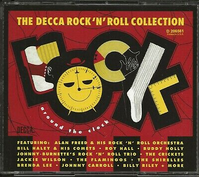 Various – Rock Around The Clock: Decca Rock 'N' Roll Collection (2CD MCA Records