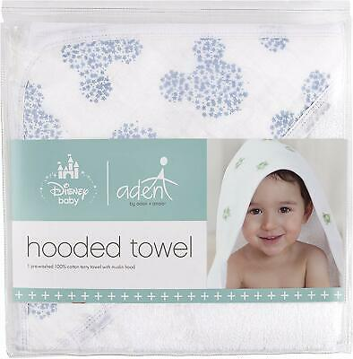 Aden By Aden And Anais Disney Mickey Hooded Towel (Brand New)