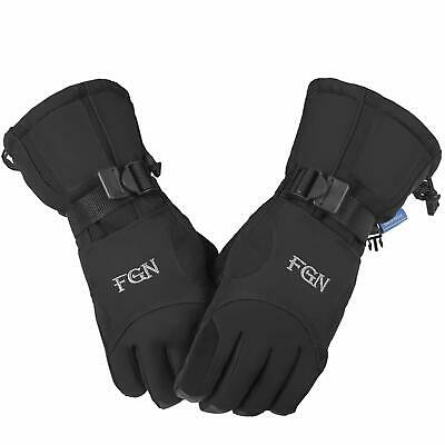Thinsulate Mens Ski Gloves Waterproof,Warm For Skiing Snow Snowboard Winter Cold