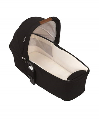 Nuna Mixx Pushchair Carrycot - Caviar Black (Raincover Incld) From Birth