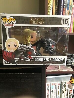 Funko Pop Rides 15 Game Of Thrones Daenerys And Drogon
