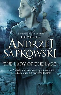 Lady of the Lake by Andrzej Sapkowski Paperback Book Free Shipping!