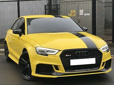 2017 (67) Audi RS3 2.5 TFSI Quattro Auto, HUGE SPEC, Wrapped In Yellow,