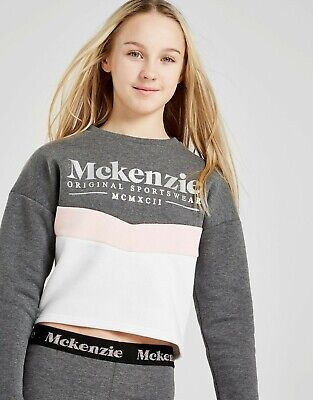 Mckenzie Girls Chevron Crew Sweatshirt (10-12 Years)