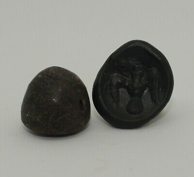 Superb Quality Ancient Carved Hard Stone Seal - Circa 500Bc  - 001