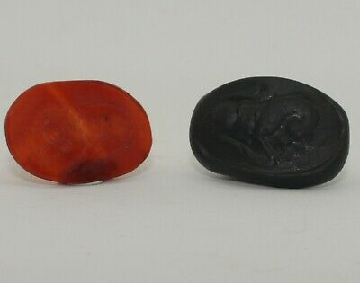 Superb Quality Ancient Carved Intaglio - Circa  200 Ad  - 0041