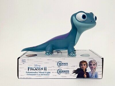 Disney's Frozen 2 Bruni The Salamander Mood Light Auto Shut Off NEW