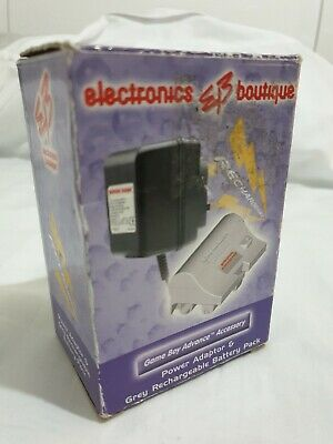 Gameboy Advance Rechargeable Battery Pack