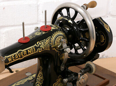 Weaver and Son Antique Sewing Machine