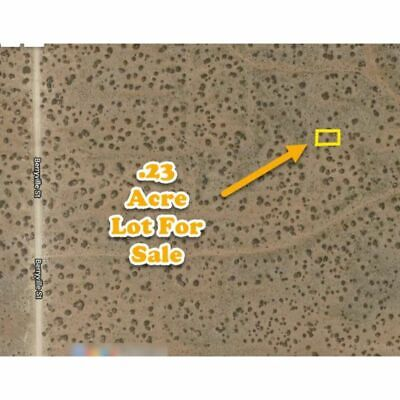 1/4 Acre  Lot  El Paso Co TX -Bid on Full Price -NO RESERVE- HIGH BID OWNS IT