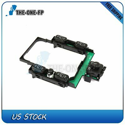 New Power Window Switch Front Driver Left Side Black for VW LH Hand 7B0959857E