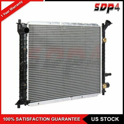 For 98 99 00 01 02 03 Escort ZX2 2.0 1Row Radiator Assembly F8CZ8005AA FO3010109