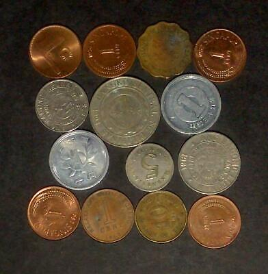 Good lot of coins from Asian Nations (30g) - unchecked