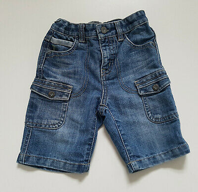Guess Jeans Denim Shorts Trousers Boy 2 Years 98cm 79%Cotton