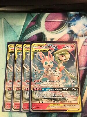 130/214 Gardevoir & Sylveon GX Tag Team Unbroken Bonds Ultra Rare GX