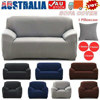 1 2 3 Seater Sofa Covers Slipcover Elastic Stretch Settee Protector Couch Wash