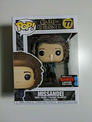 Funko POP! Missandei Game of Thrones 2019 NYCC Shared Exclusive #77