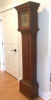 Pre 1685 Grandfather Longcase Clock - Unique 1 Hand - Made by Lyme England