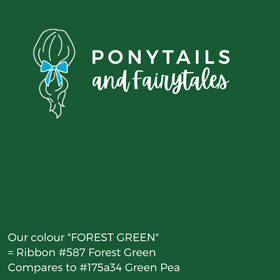 Forest Green Hair Accessories