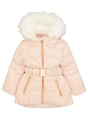 Brand New Ted Baker Girls Jacquard Ski Jacket Coat Age 10 Years