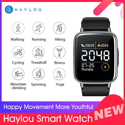 Xiaomi Haylou LS01 Smart Watch Smart Wristband 9 Sports Modes Bluetooth 4.2 P5K6