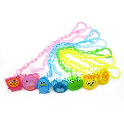 Dummy Clip Baby Soother Clips Chain Holder Pacifier Strap Many Designs xjx2