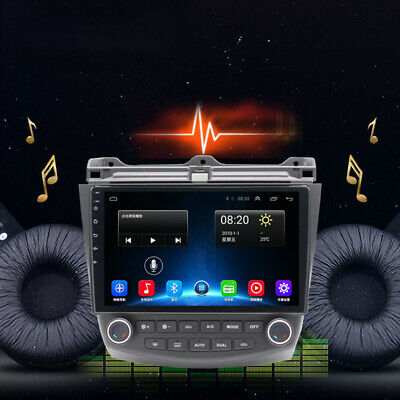 "10.1""Android 9.1 Car Stereo Radio Wifi 3G 4G GPS USB FM BT Fit For Honda Accord"