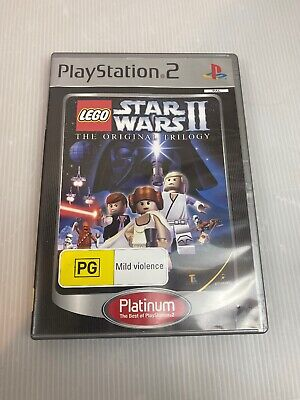 LEGO Star Wars II: The Original Trilogy - Playstation 2 PS2 - Free Postage!
